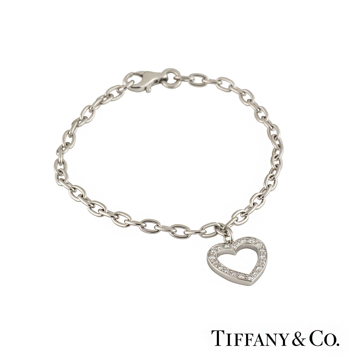 Tiffany & Co. Heart Diamond Bracelet